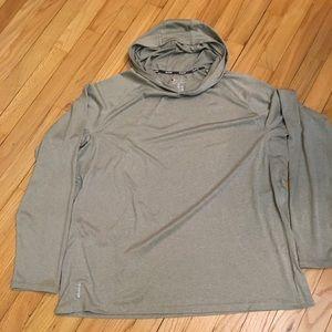 Champion gray hoodie